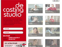 Tablet Preview of decastingstudio.nl